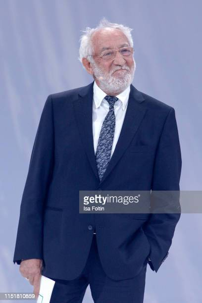 German comedian Dieter Hallervorden during the Green Award as part of the Greentech Festival at Tempelhof Airport on May 24 2019 in Berlin Germany...