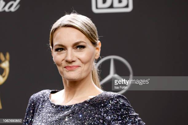 German comedian Martina Hill attends the 70th Bambi Awards at Stage Theater on November 16 2018 in Berlin Germany