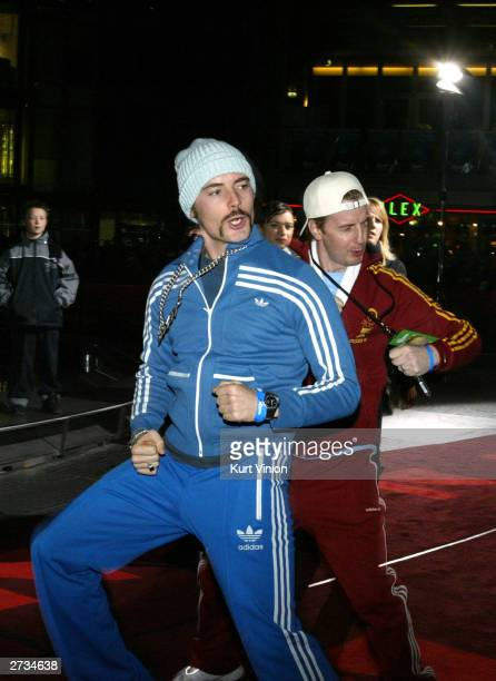 German comedians Erkan and Stefan attend the German premiere of Finding Nemo on November 16 2003 in Berlin Germany