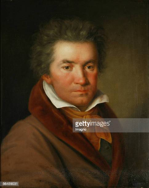 Ludwig van Beethoven Oil on Canvas 1815 [Ludwig van Beethoven oel/Lwd 1815]