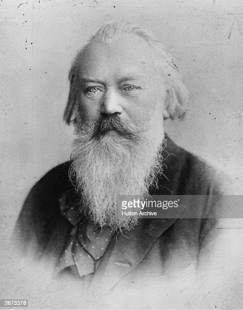 German composer pianist and conductor Johannes Brahms