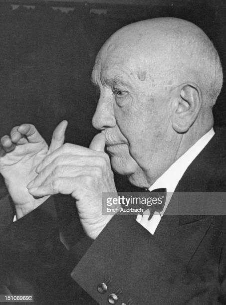 German composer Richard Strauss , 1947.