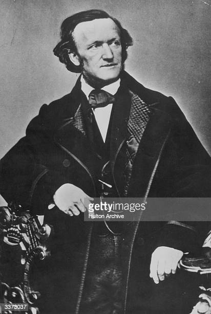 German composer Richard Wagner circa 1850