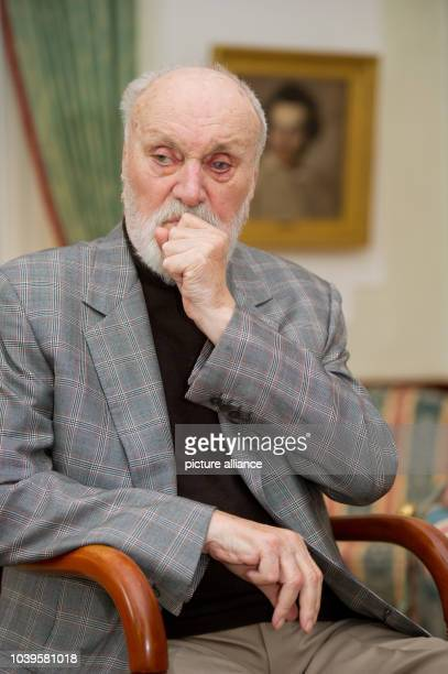 German conductor Kurt Masur picture during a photocall in Zinnowitz, Germany, 9 Septmer 2013. Masur is going to be awarded the European Culture Award...