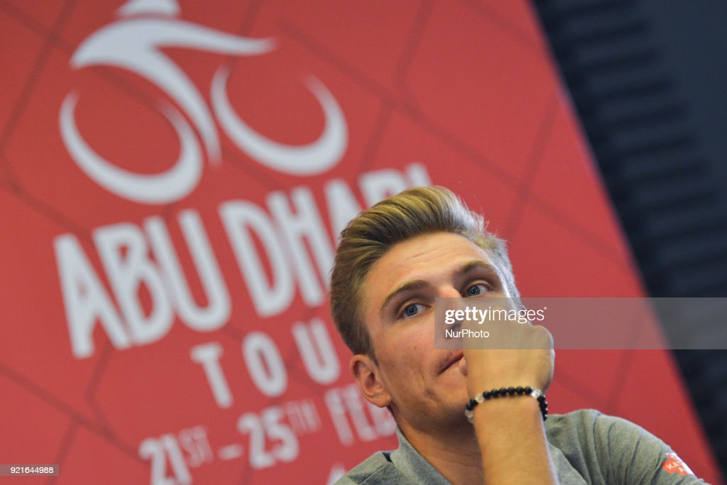 4th Abu Dhabi Tour 2017 Press Conferenc : Foto di attualità