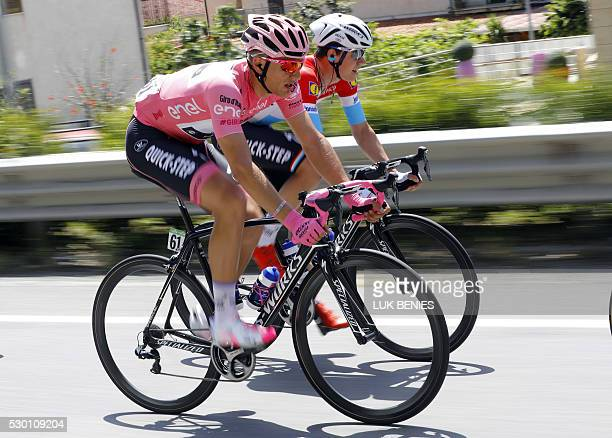 German cyclist Marcel Kittel of Etixx Quick Step rides during the 4th stage of 99th Giro d'Italia Tour of Italy from Catanzaro to Praia a Mare on May...