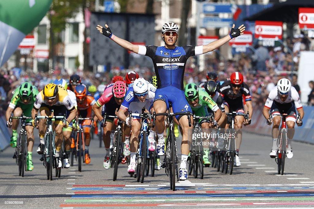 CYCLING-ITA-NED-GIRO : News Photo