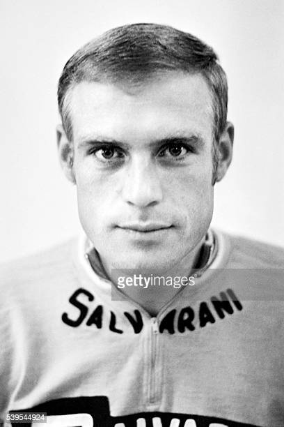 German cyclist Rudi Altig poses on June 28 1969 during the Tour de France cycling race Rudi Altig a former world champion and who wore the Tour de...