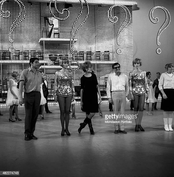 German dancers and singers Alice Kessler and Ellen Kessler Italianborn Swiss singer and TV presenter Mina Italian musician and TV presenter Lelio...