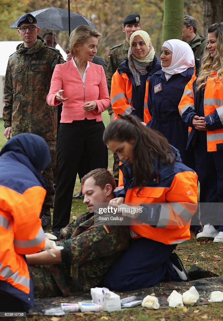 Bundeswehr Trains Syrian Women In First Aid