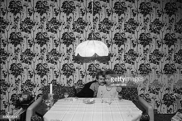 German Democratic Republic a couple at home