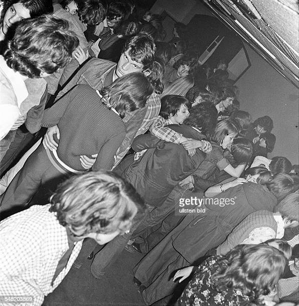 German Democratic Republic Bezirk Berlin East Berlin - disothek in a Youth Club - 1977