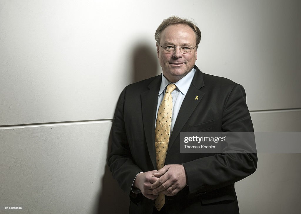 German Development Minister Dirk Niebel, poses for a phototgraph on January 29, 2013 in Berlin, Germany.