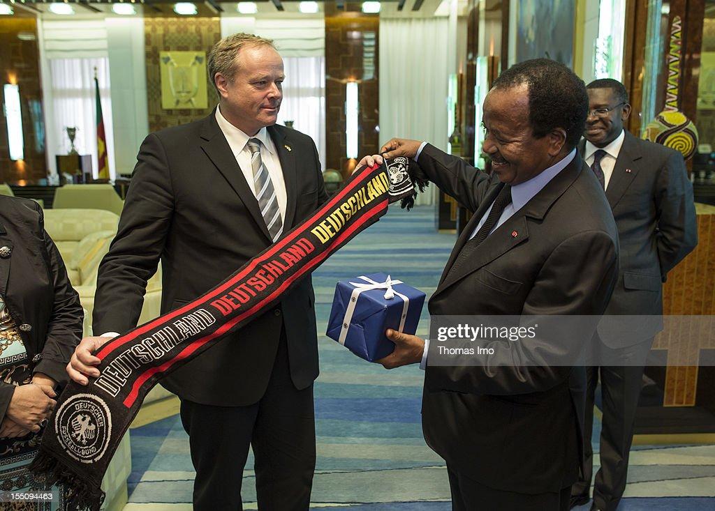 German Development Minister Visits Cameroon
