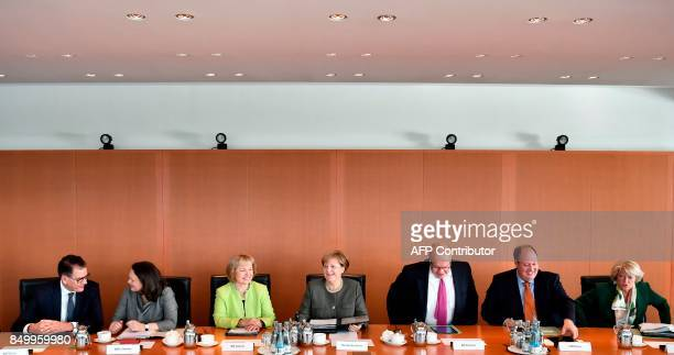 German Development Minister Gerd Mueller German Labour and Social Minister Andrea Nahles Minister of State in the Federal Foreign Office Maria...
