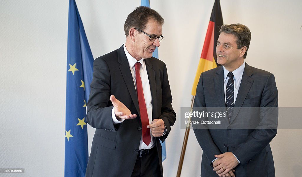 German Development Minister Meets Head Of WTO