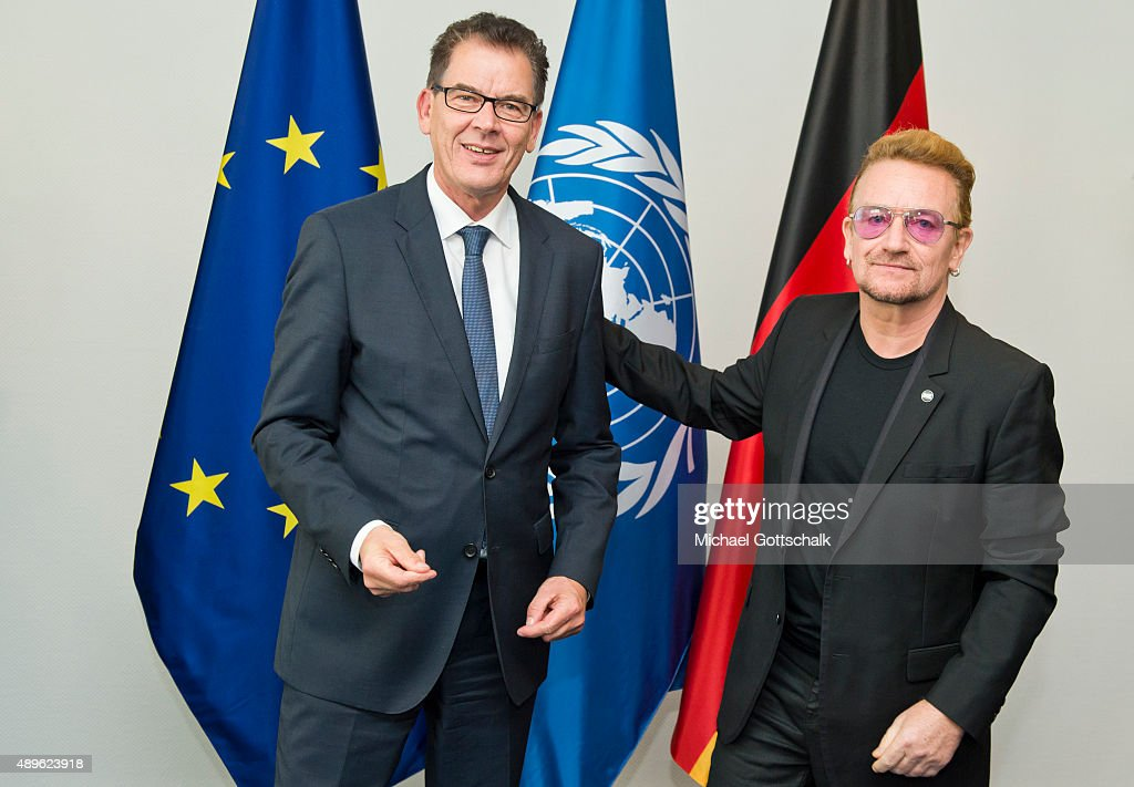 German Development Minister Meets Bono