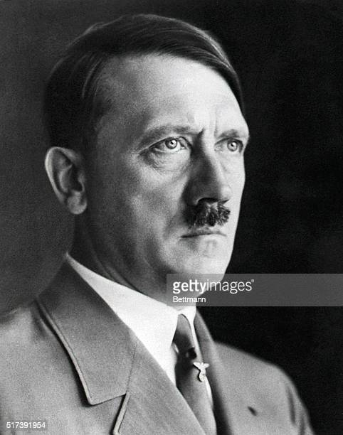 German dictator Adolf Hitler in military uniform