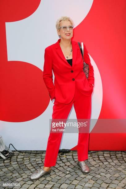 German Director Doris Doerrie attends the Bayerischer Fernsehpreis 2017 at Prinzregententheater on May 19 2017 in Munich Germany