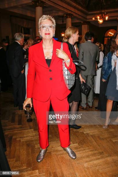 German Director Doris Doerrie during the Bayerischer Fernsehpreis 2017 at Prinzregententheater on May 19 2017 in Munich Germany