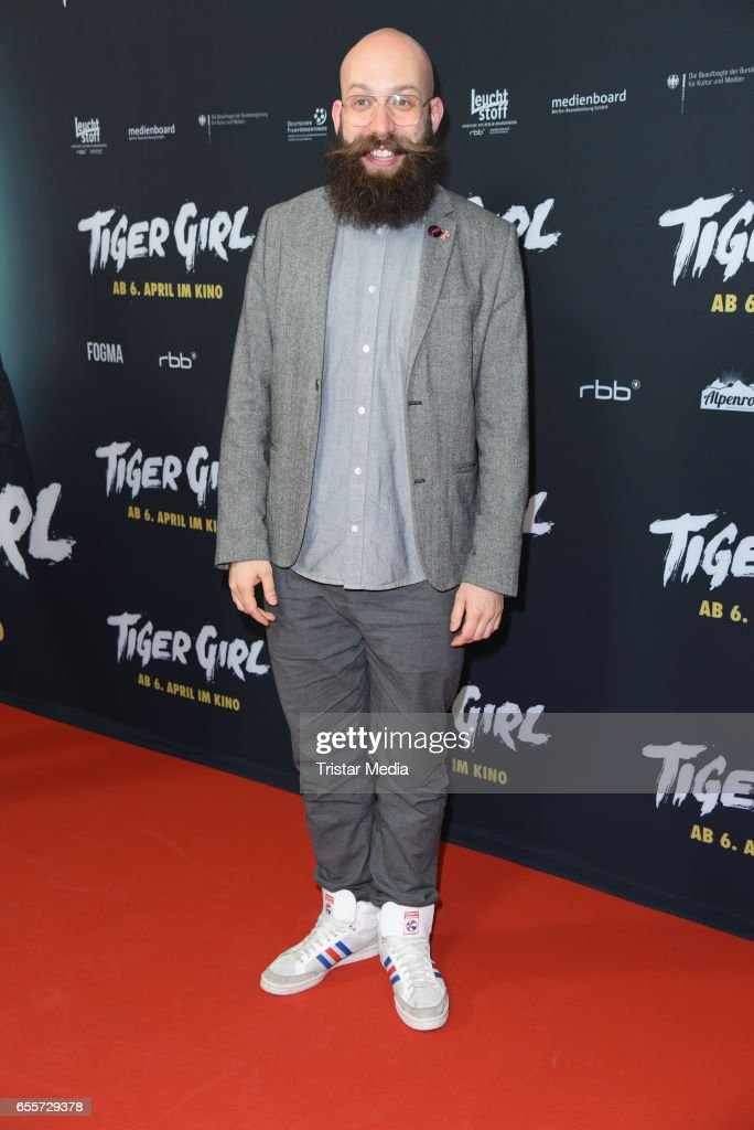 German director Jakob Lass attends the premiere of the film 'Tiger Girl' at Zoo Palast on March 20, 2017 in Berlin, Germany.