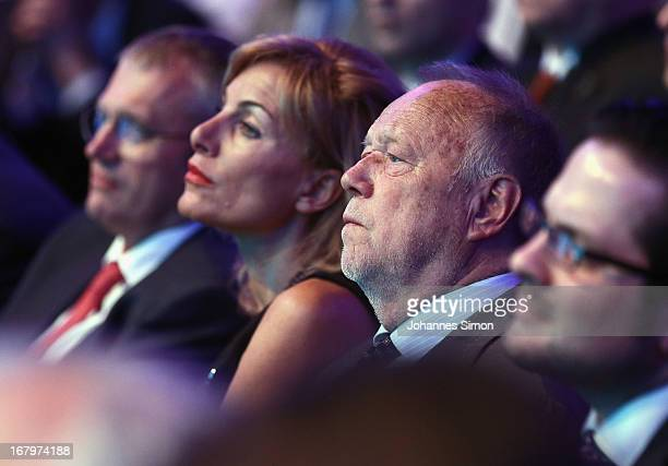 German director Joseph Vilsmaier supporter of the Bavarian Christian Democrats attends the CSU party gathering that confirmed Bavarian governor Horst...