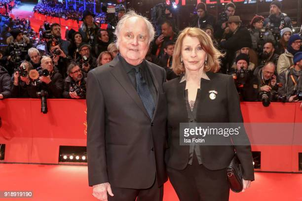 German director Michael Verhoeven and German actress Senta Berger attend the Opening Ceremony 'Isle of Dogs' premiere during the 68th Berlinale...