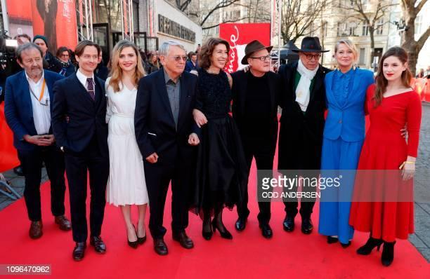 German director of photography Gernot Roll, German actor Tom Schilling, German actress Mala Emde, German director and screenwriter Heinrich Breloer,...