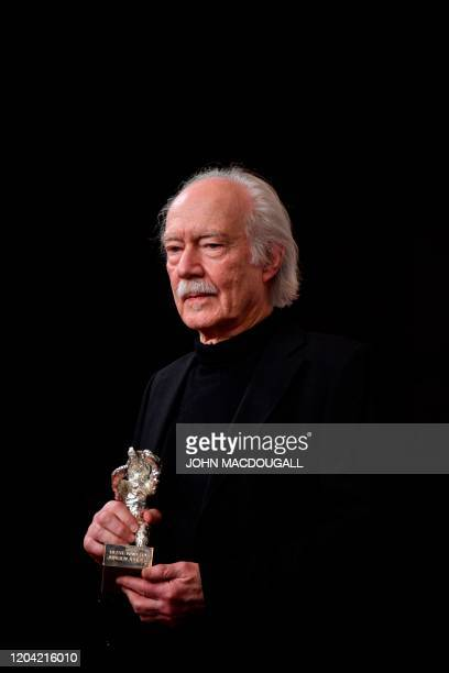 German director of photography Juergen Juerges winner of Silver Bear for Outstanding Artistic Contribution attends a press conference after the...