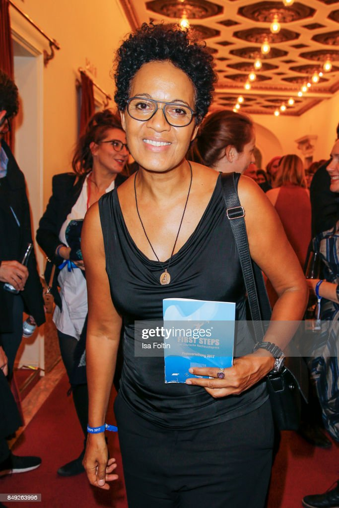 German director, presenter and actress Mo Asumang attends the First Steps Awards 2017 at Stage Theater on September 18, 2017 in Berlin, Germany.