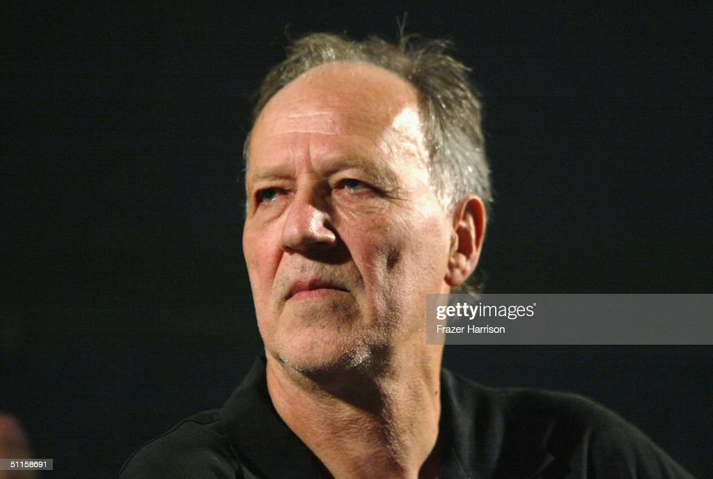 German director/actor Werner Herzog talks at the Q+A at the premiere for 'Incident at Loch Ness' held on August 10, 2004 at The American Cinematheque Egyptian Theater, in Hollywood, California.