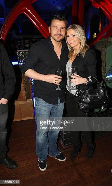 German DJ Andre Tanneberger aka ATB and his wife Anna Tanneberger at the 'Call of Duty Ghosts' Launch Party on November 4 2013 in Berlin Germany