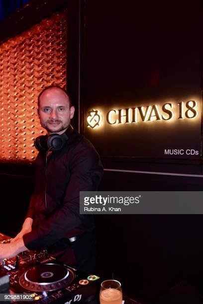 German DJ Toby at the second edition of Chivas Alchemy at The Lodhi Hotel on March 9 2018 in New Delhi India
