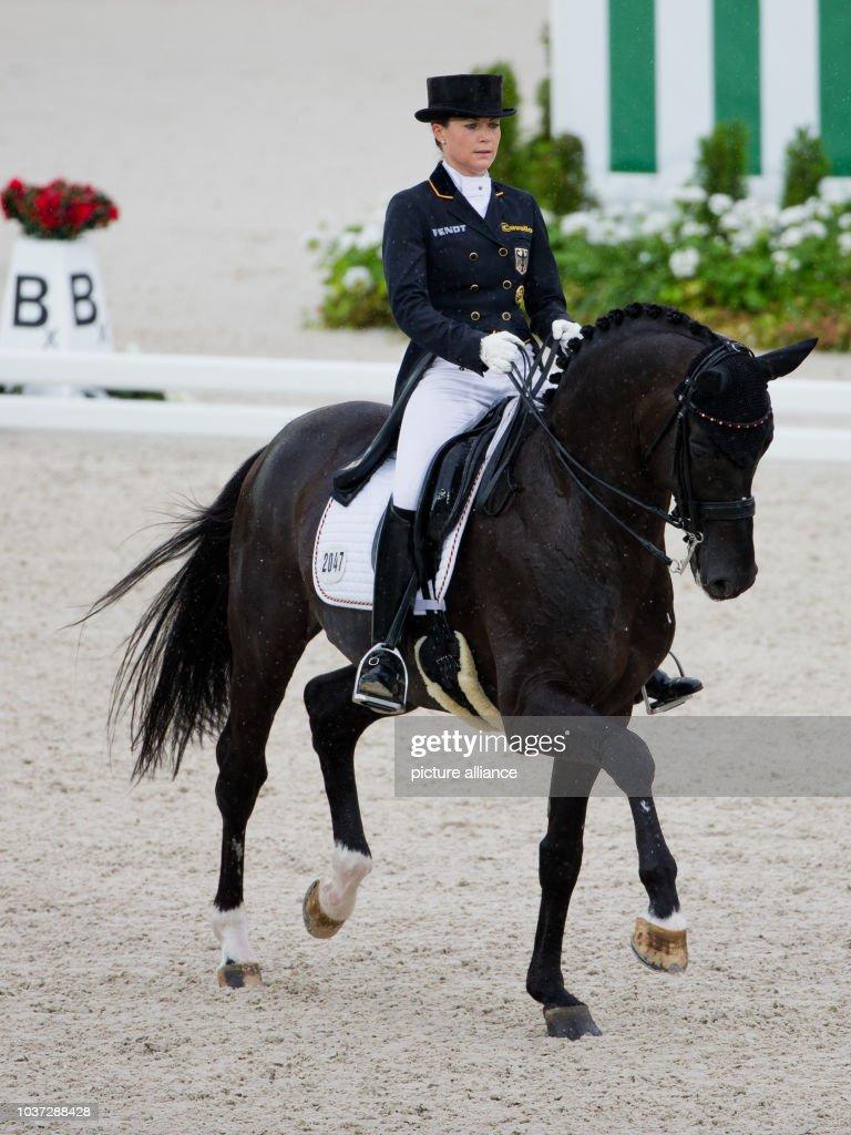 German Dressage Rider Kristina Sprehe On Her Horse Desperados Frh News Photo Getty Images
