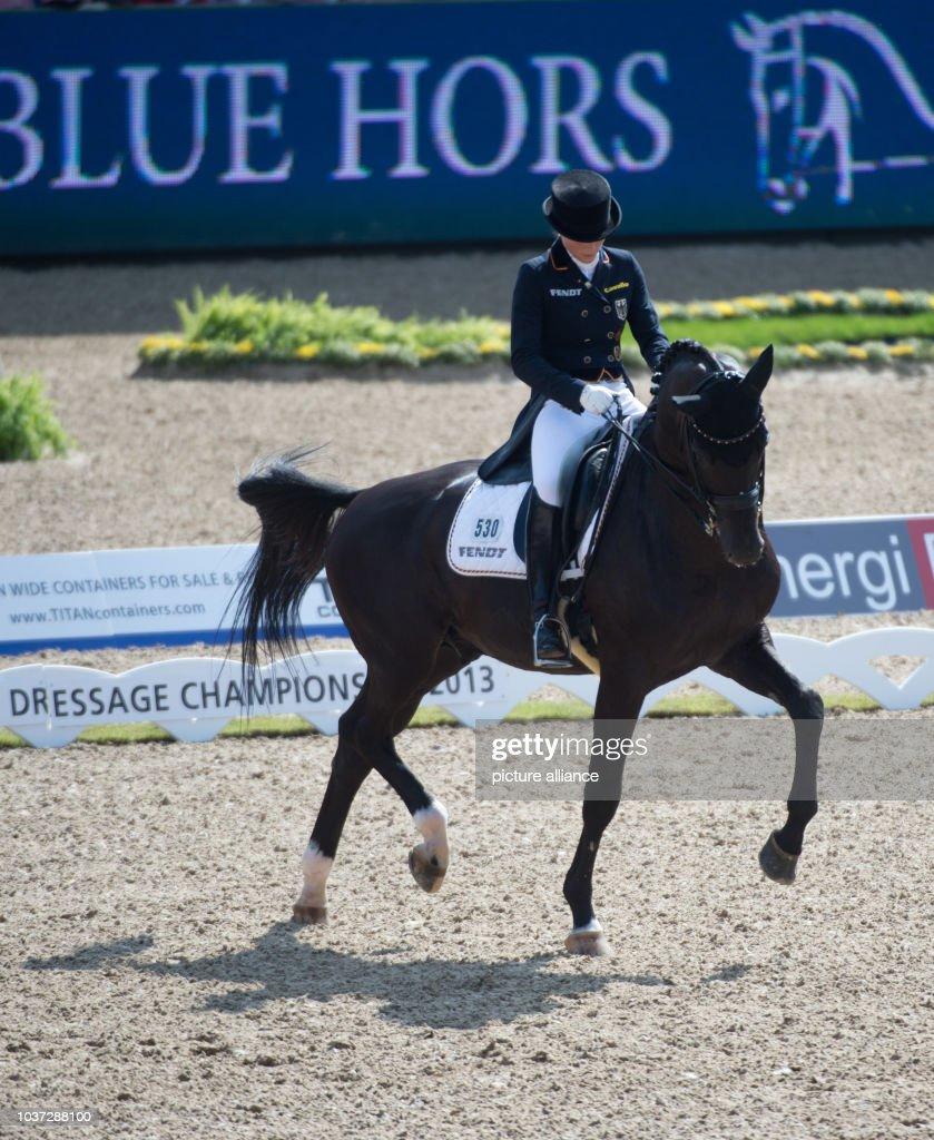 German Dressage Rider Kristina Sprehe Rides On Her Horse Desperados News Photo Getty Images