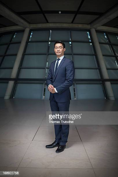German Economy Minister and Vice Chancellor Philipp Roesler poses for a photograph during a portrait session on May 17, 2013 in Berlin, Germany.