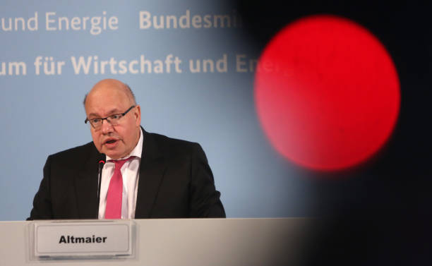 DEU: Economy Minister Altmaier Speaks On State Of German Economy During The Coronavirus Crisis