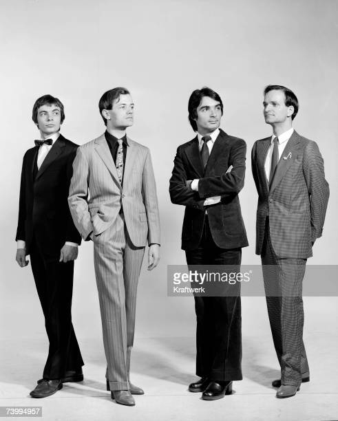 Photo by Maurice Seymour/Kraftwerk/Getty Images NEW YORK CIRCA 1975 German electronic group Kraftwerk pose for a portrait circa 1975 in New York City...