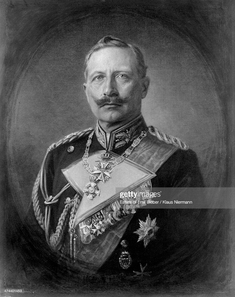 Kaiser Wilhelm II of Germany as a young man, , wearing an Austrian News Photo - Getty Images