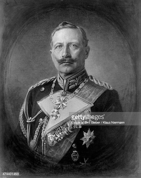German emperor Kaiser Wilhelm II of Germany in military uniform circa 1900