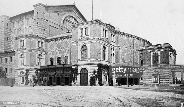 German Empire - Bayern Koenigreich - Bayreuth The Bayreuth Festspielhaus is an opera house north of Bayreuth, dedicated principally to the...