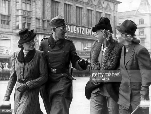 German Empire Free State Prussia Brandenburg Province Berlin Reportage from the NS magazin 'Erika' Where do all the nice Berlin women come fromErika...