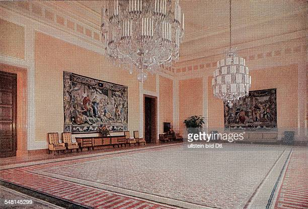 German Empire Free State Prussia Brandenburg Provinz Berlin Buildings of the NSDAP the New Reich Chancellery in Berlin Vossstrasse architect Albert...