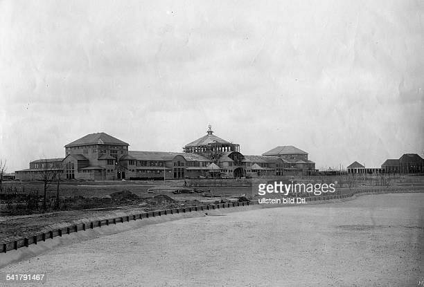 German Empire Free State Prussia Brandenburg Provinz Berlin Friedenau Main building of the German army military and colonial exhibition Photographer...