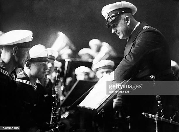 German Empire Free State Prussia East Prussia Province Orchestra of the ' 5th Navy Artillery Regiment ' with conductor ' Musikmeister Koenig '...