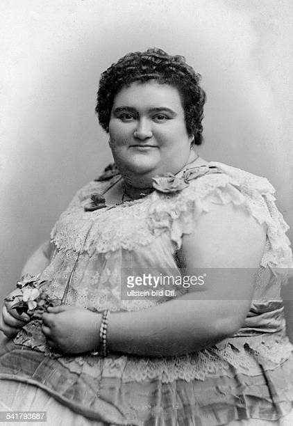 German Empire Hamburg Freie und Hansestadt Giantess with adiposityPortrait of a very overweight and tall woman Photographer Theodor Reimers Published...