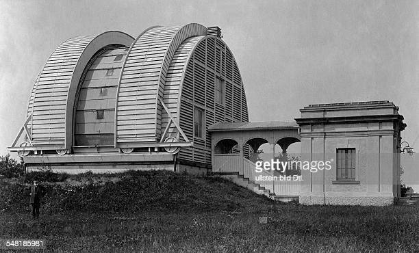 German Empire Hamburg Freie und Hansestadt The Hamburger observatory in Bergedorf Building for the meridian circle Photographer Hans Breuer Published...