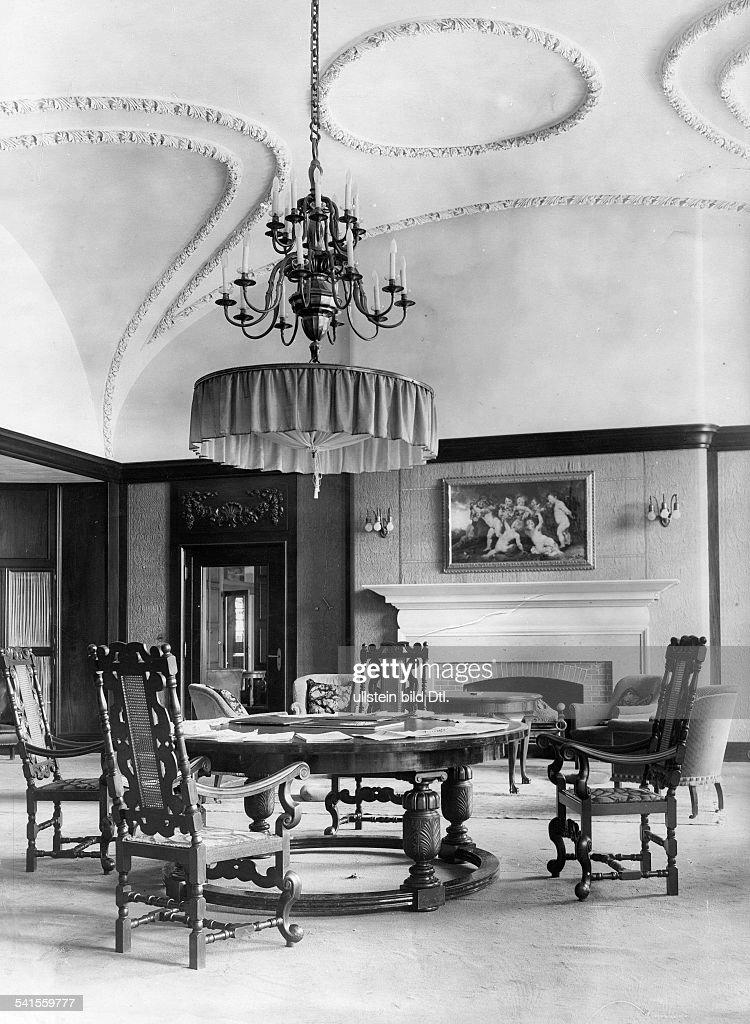 German Empire Hessen Volksstaat Nauheim Jeschkes Grand Hotel In Nachrichtenfoto Getty Images