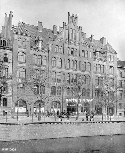 German Empire Kingdom Prussia Berlin Berlin: the union building 'Engelburg' at the Engelufer , architects: Konrad Reimer and Friedrich Koerte, built...