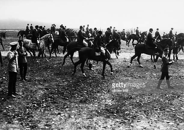 German Empire Kingdom Prussia Brandenburg Province Doeberitz royal hunt Photographer Haeckel